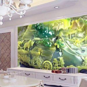 Tranh kính 3D treo tường ấn tượng tại Hà Nội