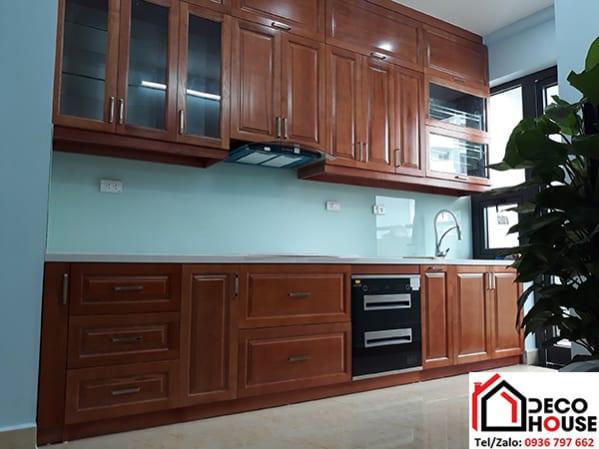 KÍnh ốp bếp màu trắng xanh giống kính bếp màu xanh ngọc nhạt