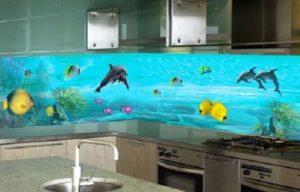 Lắp đặt kính ốp bếp Hải Long chính hãng tại quận Tây Hồ
