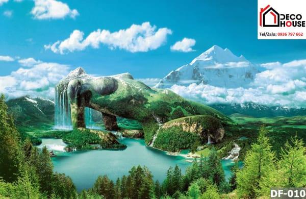 Tranh kính phong cảnh thiên nhiên nghệ thuật