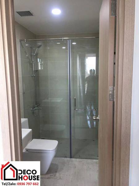 lắp vách kính nhà tắm đẹp
