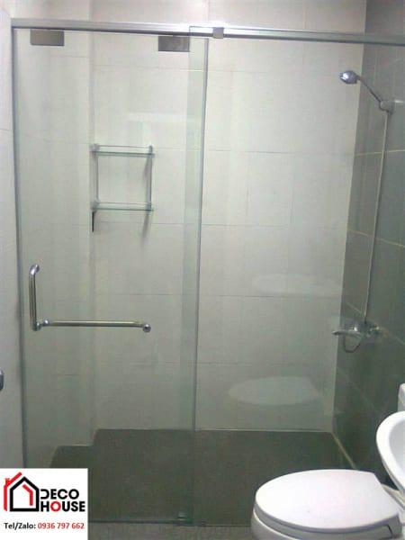 Giá vách kính tắm, phòng tắm kính cường lực
