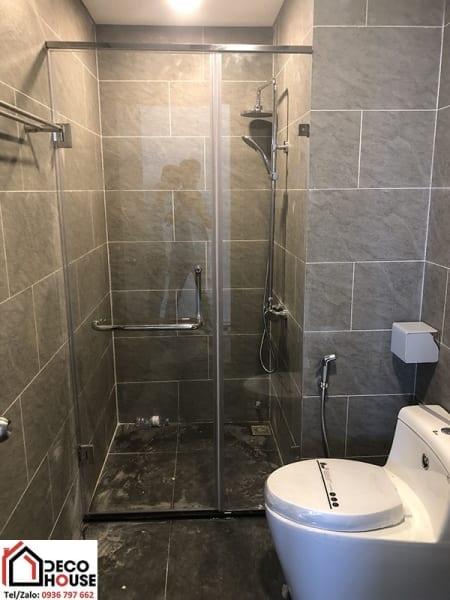 Vách kính tắm đứng giá rẻ Hà Nội