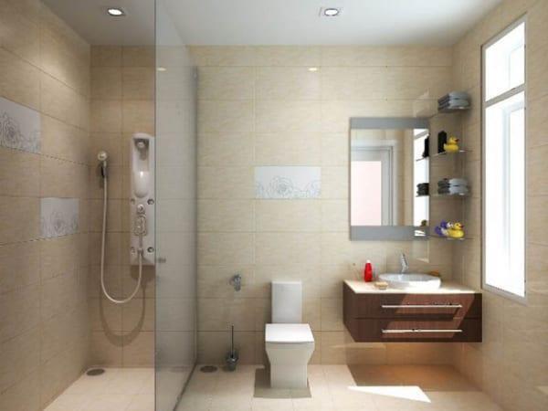 Vách ngăn kính cường lực phòng tắm