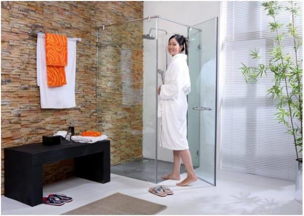 Sử dụng phòng tắm kính như thế nào đúng cách?