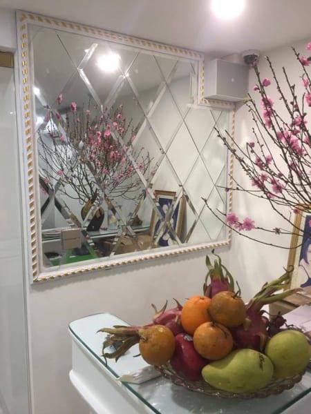 gương trang trí phòng ăn