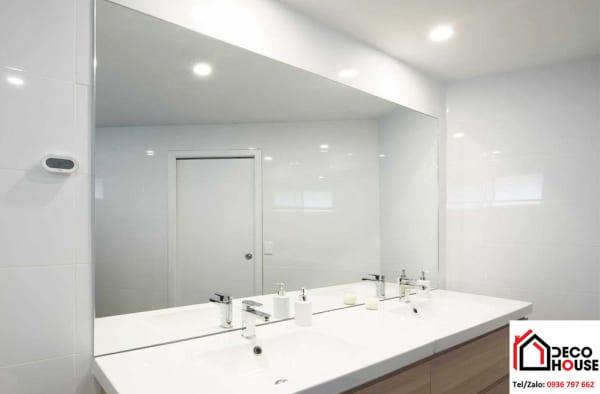 Gương soi nhà tắm hình chữ nhật