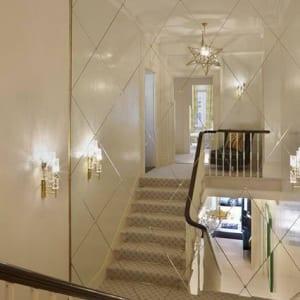 Gương trang trí cầu thang