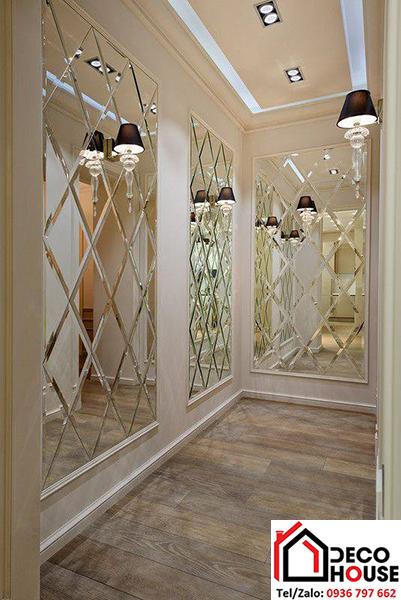 Gương trang trí hành lang