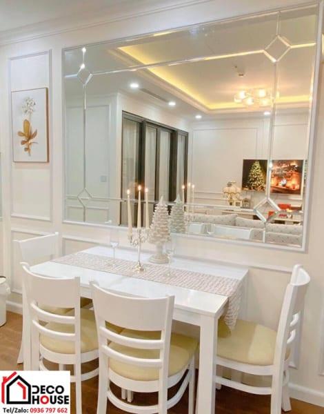 Gương trang trí nhà bếp đẹp