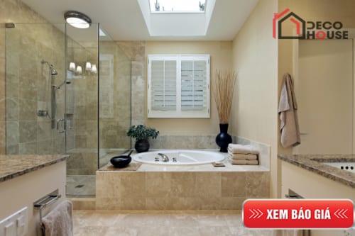 Vách kính tắm, phòng tắm kính cường lực mới nhất hiện nay tại Hà Nội