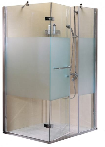 Mẫu phòng tắm kính mờ đẹp