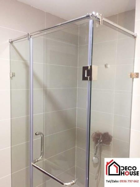 Vách tắm kính 90 độ Decohouse