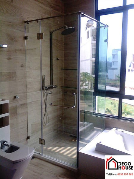 Cabin tắm kính cường lực đứng