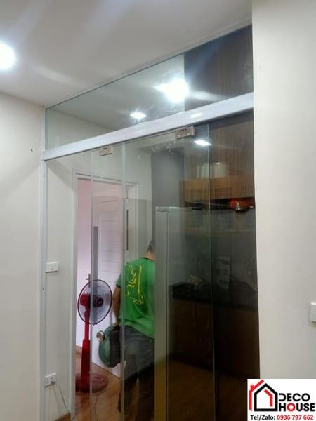 Cửa lùa kính cường lực zamilldoor cho nhà ở tại Hai Bà Trưng