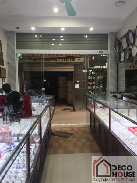 Cửa kính lùa Zamilldoor cửa hàng vàng