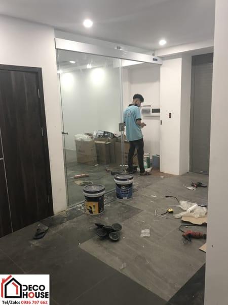 Thi công cửa kính lùa zamilldoor tại Hà Nội