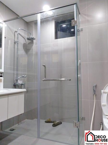 Lắp đặt vách kính phòng tắm tại Hà Nội