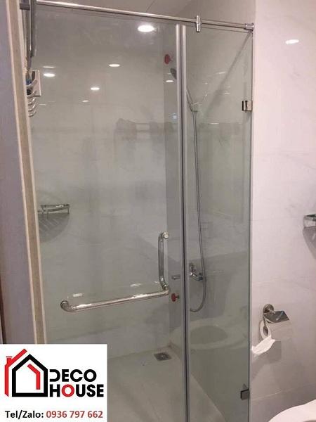 Phòng tắm kính cường lực đẹp