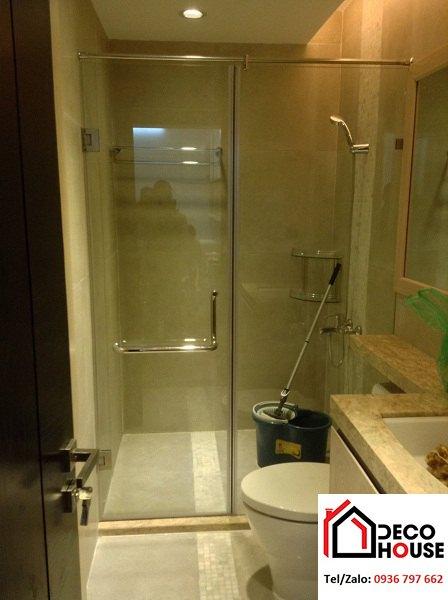 Thi công phòng tắm vách kính tại Hoàn Kiếm, Hà Nội