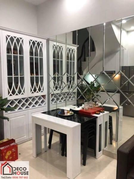 Gương ốp nhà bếp