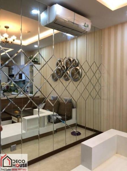 Gương ốp trang trí chung cư