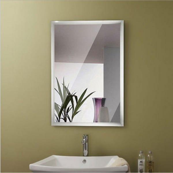 Mẫu kính thủy ốp tường cao cấp trang trí phòng tắm