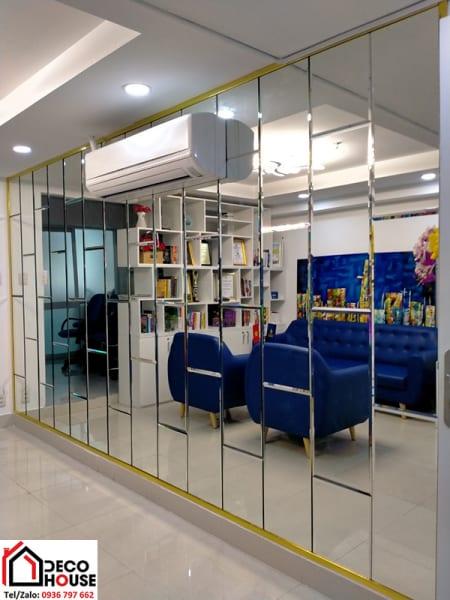 Gương trang trí phòng khách - Gương Bỉ 5mm