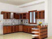 Nên dùng kính ốp bếp thay gạch men ốp tường bếp không?